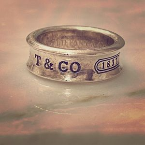 Tiffany and Co sterling ring!